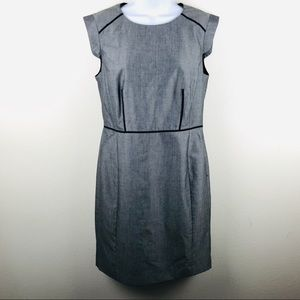 Nine West gray tailored dress size 8